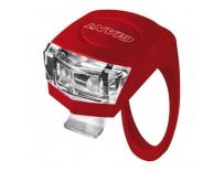 GIANT blikačka NUMEN MINI červená, bílé světlo,2 LED diody