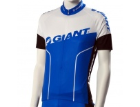 GIANT dres Team krátký rukáv černo/bílo/modrý - M