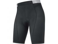 GORE Inner Lady Tights PRO+-black/silevr grey-40