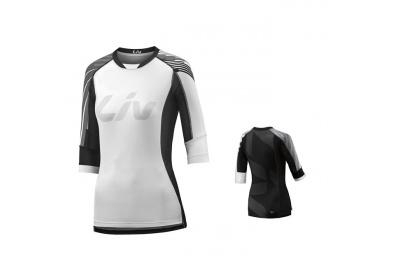 LIV Tangle 3/4 L Off-road Jersey-white/black-L