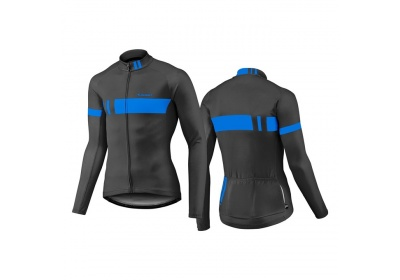 GIANT Podium LS Thermal Jersey-black/blue-XXL