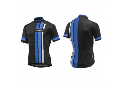 GIANT Stage SS Jersey-black/blue-L