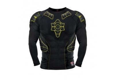 G-Form PRO-X LS Compression Shirt-black/yellow-black Therm-M