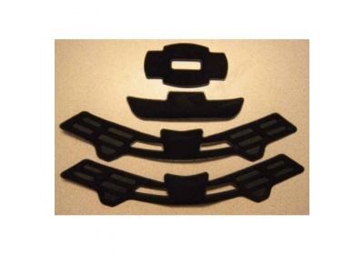 GIRO Quarter Pad Set-black-M/L