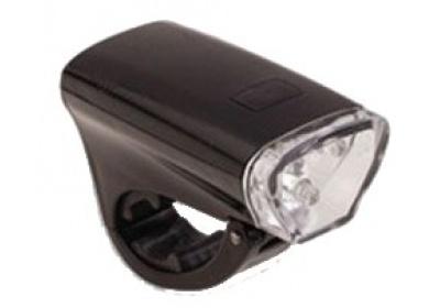 světlo MAXBIKE přední JY-159, černé, 5 diod