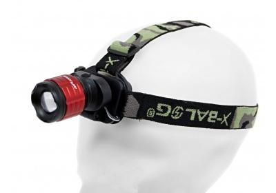 čelovka MAXBIKE JY-9011, zoomovací