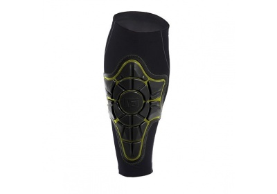 G-Form Pro-X Shin Pad-black/yellow-M