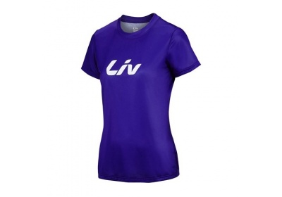 LIV Brand Tech Tee-purple-M
