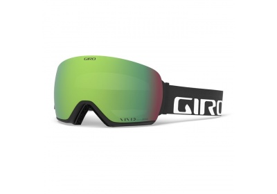 GIRO Article Black Wordmark Vivid Emerald/Vivid Infrared (2skla)