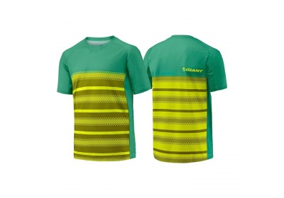GIANT Transcend SS Jersey-yellow/green-XL