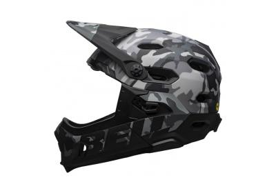 BELL Super DH Spherical Mat/Glos Black Camo M