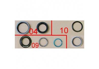 Headset No.51/52 31.8-44-56-39.8H=13.3 black w/conespacer w/OD2/FSA LG (for XTC C models)