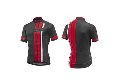 GIANT Stage SS Jersey-black/red-XL