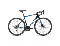 GIANT Defy Advanced 1-M19-ML-carbon/vibrant blue