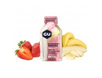GU Energy Gel 32 g - Strawberry/Banana 1 SÁČEK (balení 24 ks)