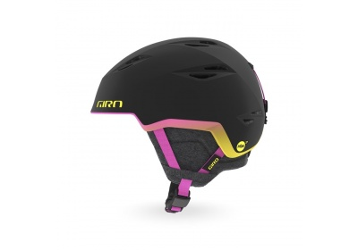 GIRO Envi MIPS Spherical Mat Black/Neon Lights S