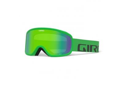 GIRO Cruz Bright Green Wordmark Loden Green