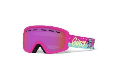 GIRO Rev Disco Birds Amber Pink