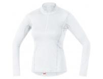 GORE M Women Base Layer Long Sleeve Shirt-white-42