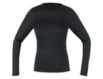 GORE M Women Base Layer Long Sleeve Shirt-black-34