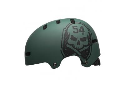 BELL Local Mat Green/Black Skull M