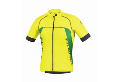 GORE Alp-X PRO Jersey-cadmium yellow/fresh green-XXL