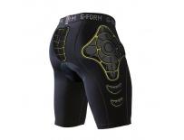 G-Form PRO-B Bike Compression Shorts-black/yellow-XL