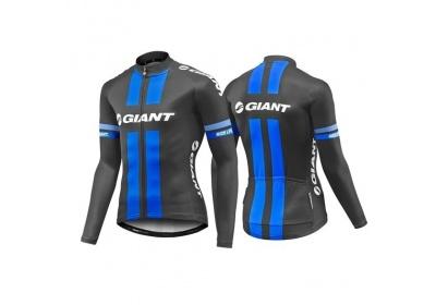 GIANT Race Day Standard LS Jersey-black/blue-M