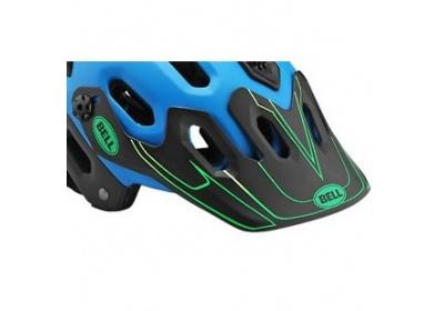 BELL Super Visor blue/green