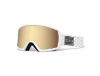 GIRO Gaze White/Silver Shimmer Amber Gold