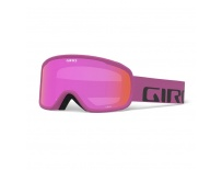 GIRO Cruz Berry Wordmark Amber Pink