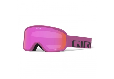 GIRO Cruz Berry Wordmark Amber Pink