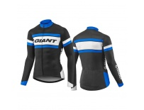 GIANT Rival LS Jersey-black/blue-L