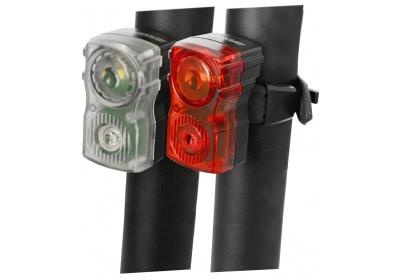 sada blikaček MAXBIKE JY-6131, vysoce svítivé USB