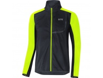 GORE C3 WS Jacket-black/neon yellow-L