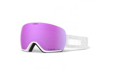 GIRO Lusi White Flake Vivid Pink/Vivid Infrared (2skla)