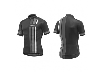 GIANT Stage SS Jersey-black/grey-XL