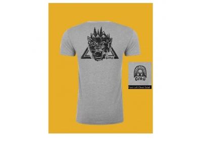 GIRO Tech T-Shirt Heather Wavy L
