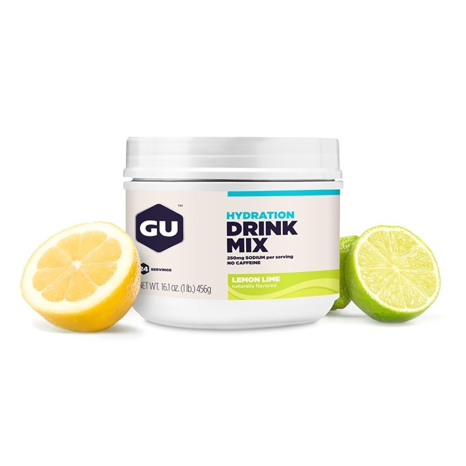 GU Hydration Drink Mix 456 g-lemon/lime  DÓZA