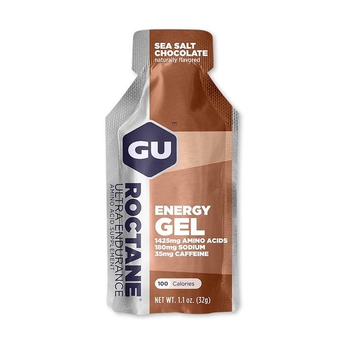 GU Roctane Energy Gel 32 g-sea salt/choco1 SÁČEK (balení 24ks)