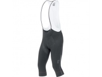 GORE Oxygen Partial Th Bibs 3/4+-black-M