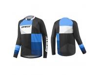 GIANT Clutch LS Jersey-black/blue-M