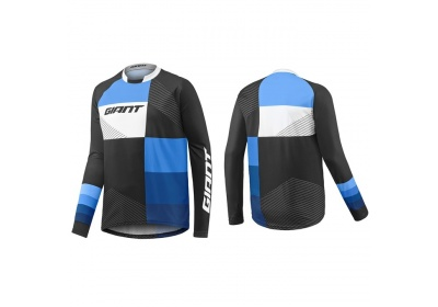 GIANT Clutch LS Jersey-black/blue-M