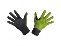 GORE GTX Infinium Stretch Mid Gloves-black/neon yellow-9