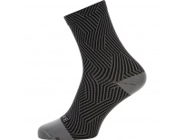 GORE C3 Optiline Mid Socks-graphite grey/black-35/37