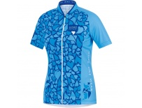 GORE Element Lady Love Camo Jersey-waterfall/ice blue-38