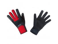 GORE M WS Thermo Gloves-black/red-10