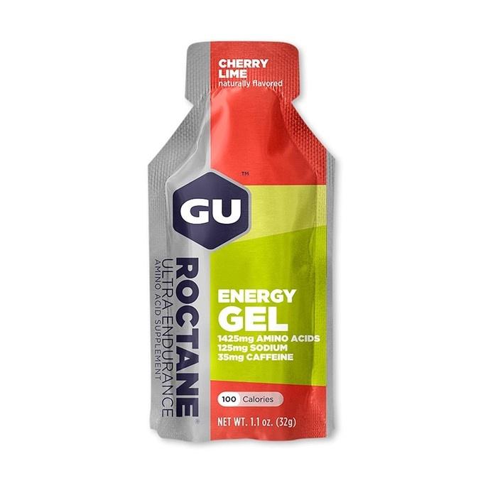 GU Roctane Energy Gel 32 g-cherry/lime1 SÁČEK (balení 24ks)