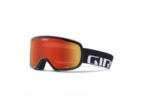 GIRO Cruz Black Wordmark Amber Scarlet