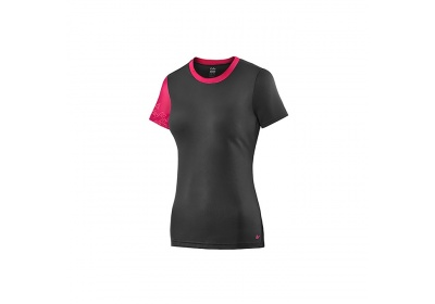 LIV Off-Road S/S Jersey-black/virtual pink-M